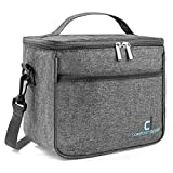Thermal Insulated Lunch Box for Adult Men & Women, Reusable Meal Prep Container, Cooler Tote Bag | Cool & Warm Food Storage for 6 Hours, | Leak-proof, Easy to Clean, Ideal for Work, School, Travel