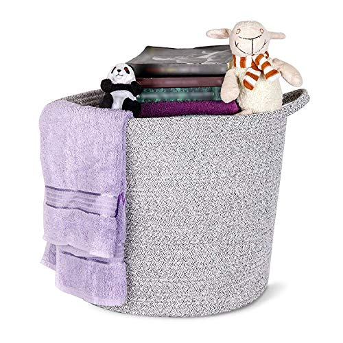 - TidlyLand Cotton Rope Basket - Large 15