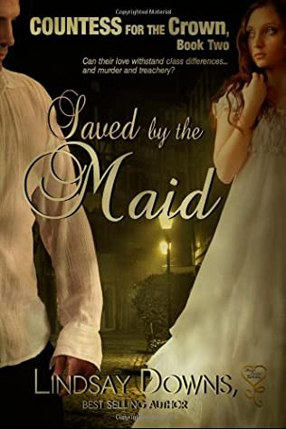 book cover of Saved by a Maid