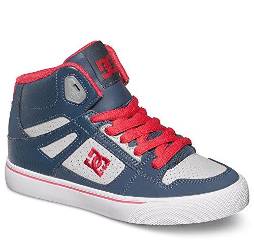 DC Spartan High Skate Shoe (Little Kid/Big Kid),Insignia Blue,7 M US Big Kid - Dc Shoes High For Kids