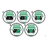 Vileda-Eco-Logic-Cubo-de-basura-ecologico-especial-para-reciclaje-multiples-combinaciones-capacidad-de-39-litros-sin-separadores-color-rojo-y-negro
