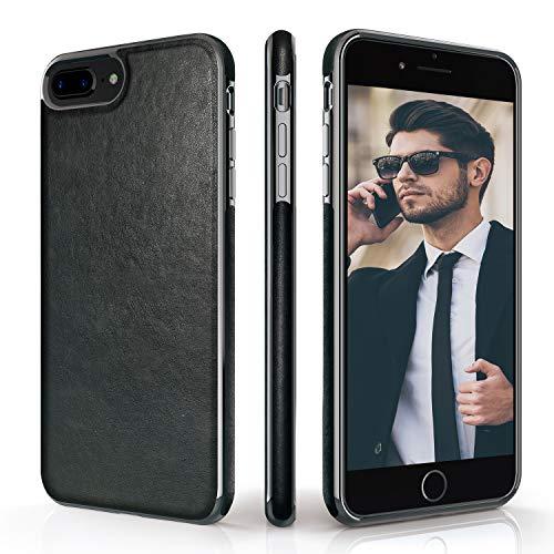 LOHASIC iPhone 8 Plus Case, iPhone 7 Plus Case Premium Leather Luxury Slim Soft Flexible Bumper Non-Slip Grip Anti…