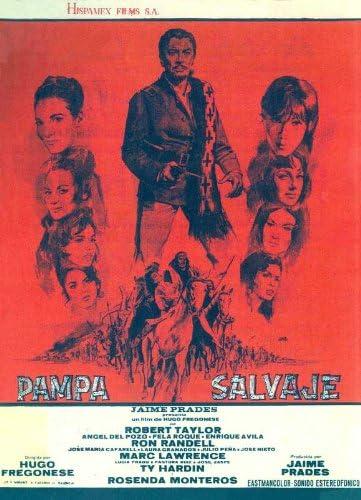 Póster de película Española de Pampa salvaje 27 x 40 - 69 cm ...