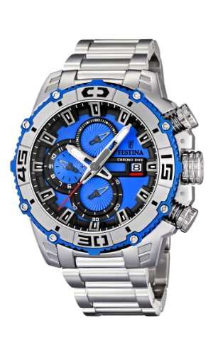 NEW Festina Chronograph Bike TOUR DE FRANCE 2012 Men's Watch F16599/4