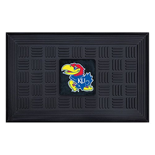 - Fanmats NCAA University of Kansas Jayhawks Vinyl Door Mat