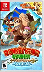 Barrel-blast into a critically acclaimed Donkey Kong adventure as this beloved franchise makes its Nintendo Switch debut with a banana-bunch of new features. Traverse islands packed with platforming perfection and nonstop action as the classi...