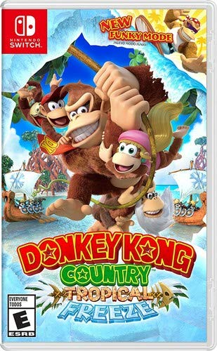 The Donkey Game (Donkey Kong Country: Tropical Freeze - Nintendo)
