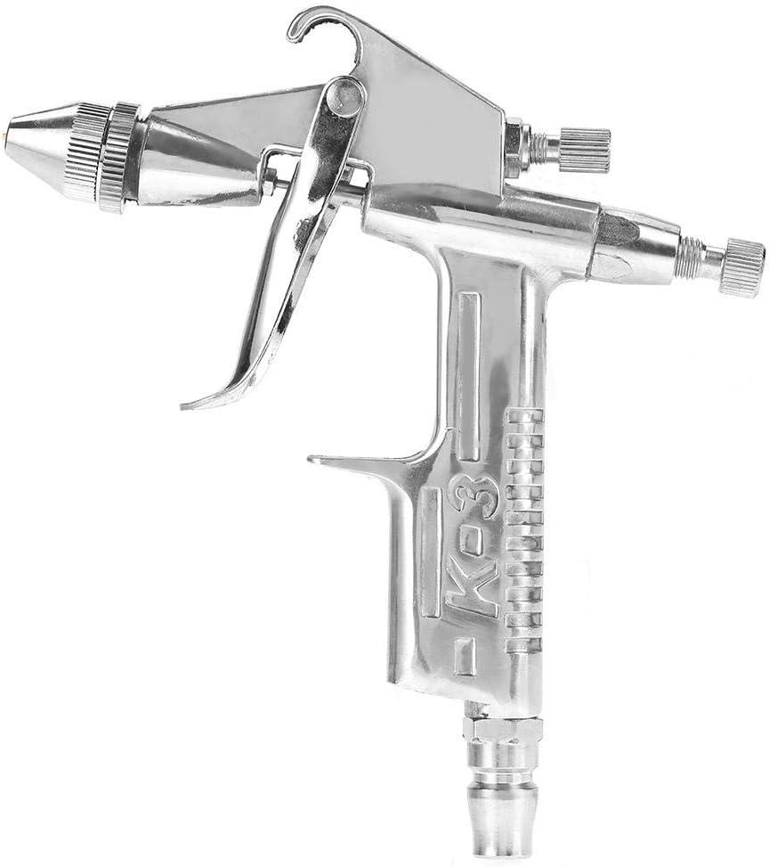 Pistolet de pulv/érisation professionnel 0.5mm Buse 125 ml Mini pistolet pneumatique Pour r/éparation de peinture automobile