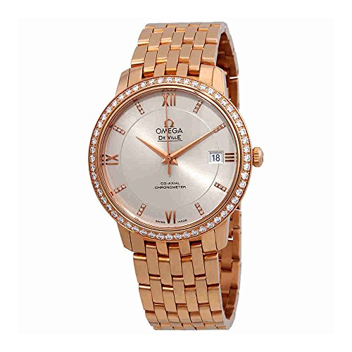 Omega-De-Ville-Prestige-18-Carat-Rose-Gold-Automatic-Ladies-Watch-42455372052001