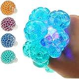 Großhandel & Sonderposten Quetschball LED Flash Ball 6 cm Squeezeball Hüpfball Bunt Blinkend Knetball Spielzeug & Modellbau (Posten)