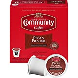 Community Coffee Pecan Praline Flavored Medium Roast Single Serve 18 Ct Box, Compatible with Keurig 2.0 K Cup Brewers, Medium Full Body Sweet Hints of Pecan, 100% Arabica Coffee Beans Review