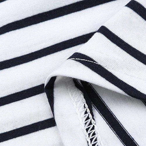 Strato Pr Premaman Shirt byste Donna Corta Doppio Camiciola Canotta Maglietta Top Maglia Incinte Manica RqBnP