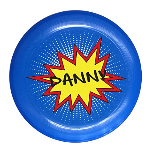 Infusion Wham-O Custom Name Burst Design Ultimate Frisbee Disc - 175g, Blue