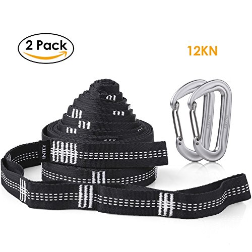 INTEY Carabiners Polyester Ultralight Suspension