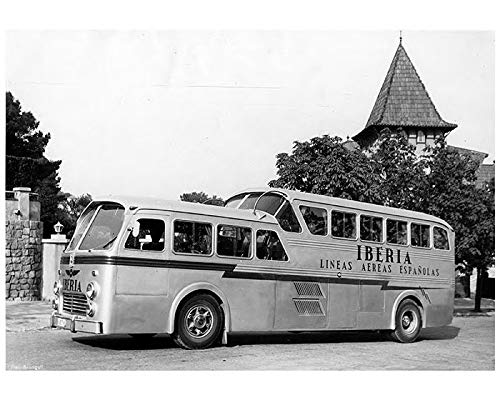Amazon.com: 1958 ? Pegaso Diesel Iberia Intercity Bus ...