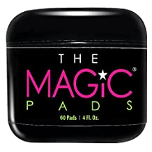 The Magic Pads - Glycolic Acid Pads with USDA Certified Organic Extracts, 60 Count