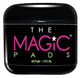 The Magic Pads - 2% Glycolic Acid Pads with USDA Certified Organic Extracts, 60 Count