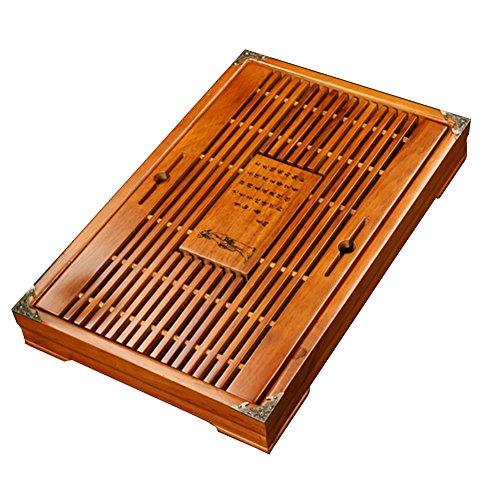 Solid Wood Tea Tray Tea Set Chinese Kung Fu Tea Set-#07 by FANCY PUMPKIN