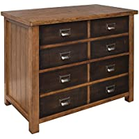Hickory Finish Heritage Lateral File - Dimensions: 36W x 21D x 30H Weight: 167 Lbs