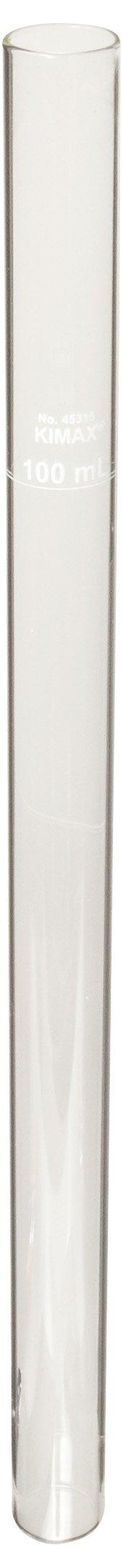 Kimble 45315A-50 Borosilicate Glass 50mL Nessler APHA Standard Color Comparison Tube (Matched Set of 6)