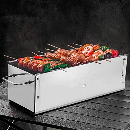 Grille de barbecue en plein air portable pliable pour barbecue, barbecue, barbecue, barbecue, barbecue, barbecue, barbecue, barbecue, 40/50, 60 x 16,5 x 13,5 cm, 60x16.5x13.5cm