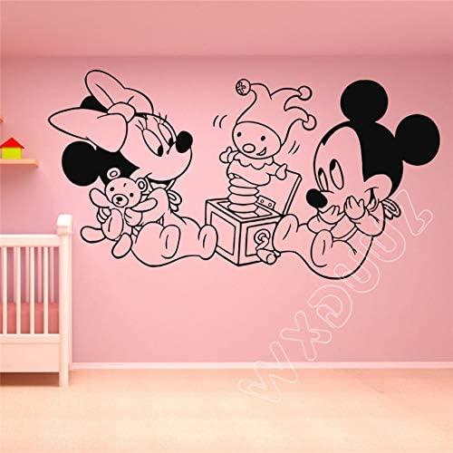Vinilo Tatuajes de pared Adhesivo Decoración Mickey Mouse Minnie ...