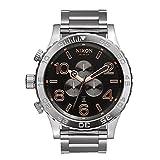 Nixon Men's 51-30 Chrono A0832064 Silver Stainless-Steel Quartz Watch