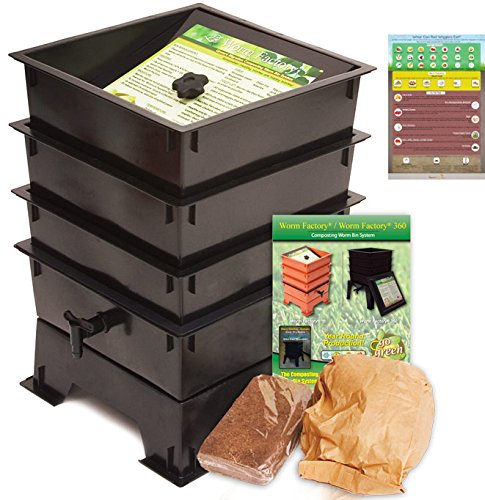 Worm-Factory-3-Tray-Worm-Composting-Bin-Bonus-What-Can-Red-Wigglers-Eat-Infographic-Refrigerator-Magnet-Vermicomposting-Container-System-Live-Worm-Farm-Starter-Kit-for-Kids-Adults