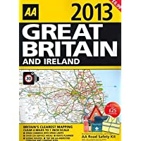 AA (Automobile Association) 2013 Big Road Atlas Great Britain and Ireland
