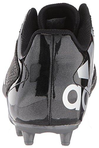 Adidas Originals 5,5 Estrellas De Zapatos De Fútbol Negro Metálico Noche De Los Hombres / Blanco /