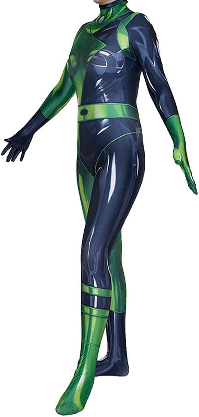 CosplayLife Shego Kim - Disfraz de Villano para Mujer - - XL ...
