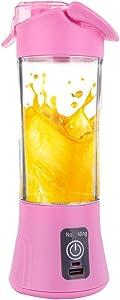 Kariwell Juicer Juice Extractor, 380ml USB Electric Fruit Juicer Handheld Smoothie Maker Blender Bottle Juice Cup