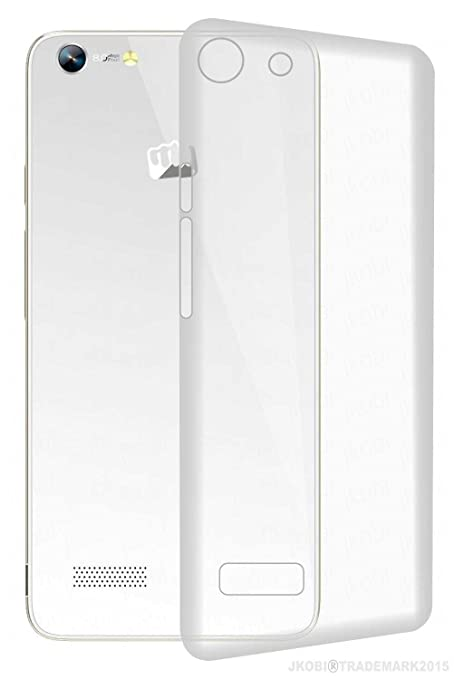 lowest price 94cb1 e4384 Exclusive Soft Silicone TPU Jelly Transparent Crystal Clear Case Soft Back  Case Cover For Micromax Canvas Hue AQ5000