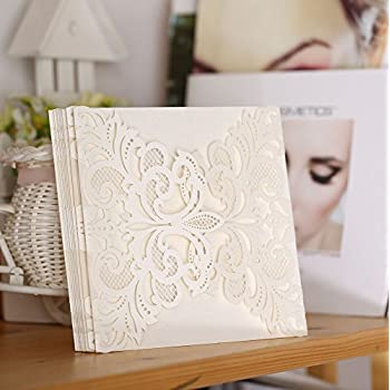 Amazon.com: Joinwin Pack of 12 Floral Laser Cut