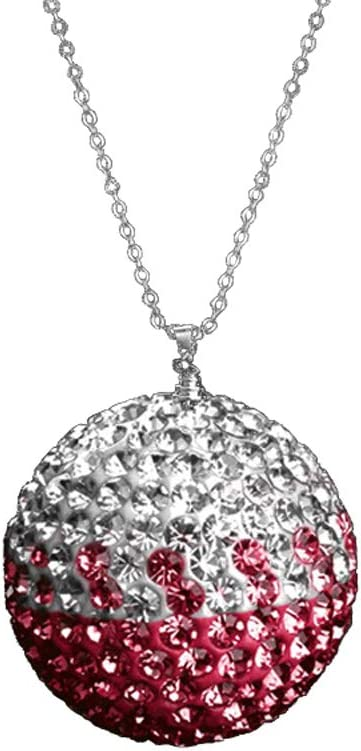 Fashion Car Rear View Mirror Pendant Crystal Ornament Lucky Crystal Ball Car Accessories