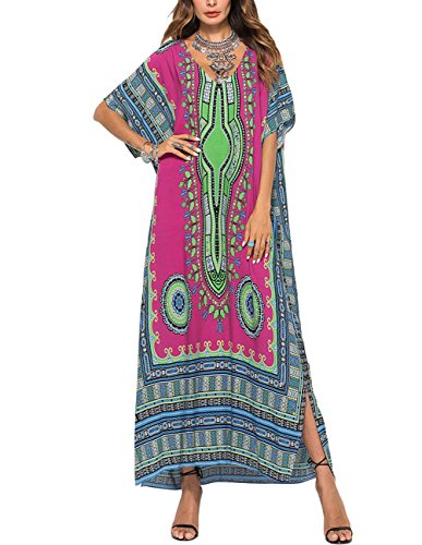 Buauty Moroccan Caftans for Women Casual Maxi Dress ()