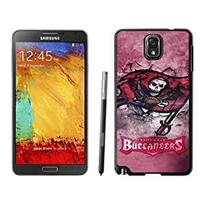 Tampa Bay Buccaneers Black Samsung Galaxy Note 3 Screen Cover Case Grace and Durable Protective