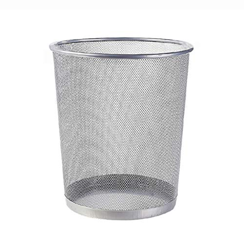 Household Trash Can Kitchen Living Room Bathroom Office Barbed Wire Without Cover Paper Basket