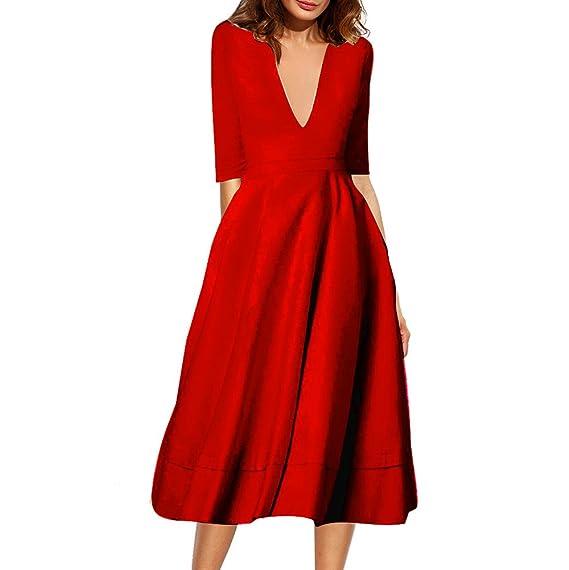 new style 9d758 db1ef Belle Style Rückenfrei Kleid Damen IHRKleid® Elegant Etuikleid Knielang  Festliche Kleider