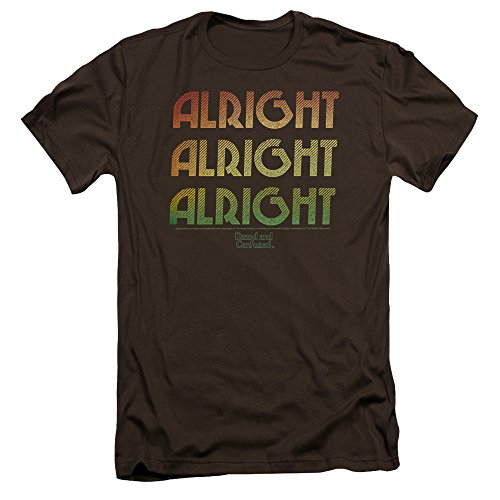 Dazed And Confusedn Comedy Film Alright Alright Alright Adult Slim T-Shirt