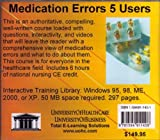 Medication Errors, 5 Users, Farb, Daniel, 1594911401