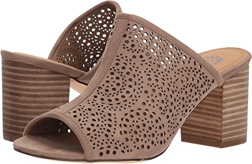 Yellow Box Women's Vaderlyn Heeled Sandal, Taupe, 10 M US ()