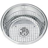 Wenko 53200100 cestello per lavello casa e cucina - Lavello cucina rotondo ...