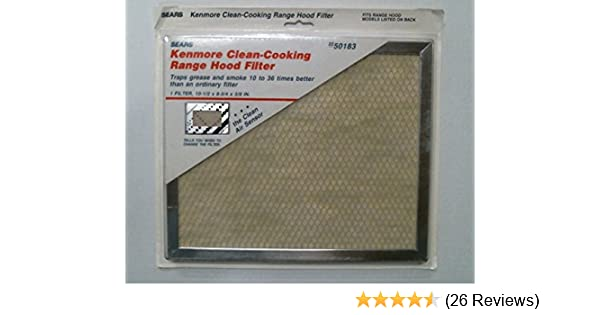 Amazon.com: Kenmore Clean-Cooking Range Hood Filter 2250183 50183: Home Improvement