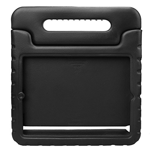 NEWSTYLE Apple iPad 2 3 4 Shockproof Case Light Weight Kids Case Super Protection Cover Handle Stand Case For Kids Children For Apple iPad 4, iPad 3 & iPad 2 2nd 3rd 4th Generation (Black)