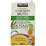 Kirkland Signature Organic Chicken Broth 6 X 946 ml 6 Count