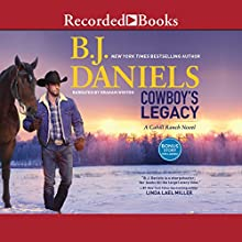 Cowboy's Legacy Audiobook by B.J. Daniels Narrated by Graham Winton