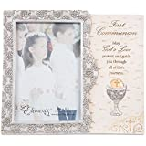 """Elements Pavilion Company Catholic First Communion Gift Picture Frame, 4""""x6"""""""