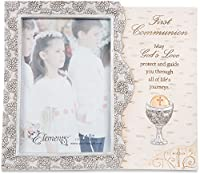"Pavilion Gift Company Elements Catholic First Communion Gift Picture Frame, 4"" x 6"""