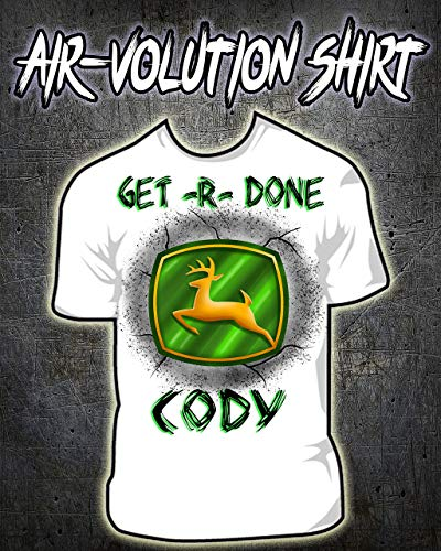 Personalized Airbrushed Deer Shirt ()